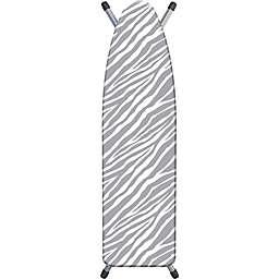 Westex® Zebra Print Ironing Board Cover in Grey