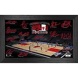 NBA Chicago Bulls 2021 Signature Court Photo