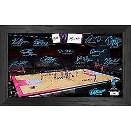 NBA Miami Heat 2021 Signature Court Photo