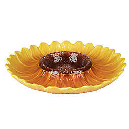 Certified International Sun Garden 3D Chip & Dip Bowl
