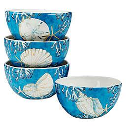 Certified International Playa Shells Ice Cream Bowls (Set of 4)