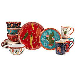 Certified International Fiesta 16-Piece Dinnerware Set