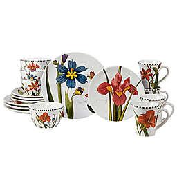 Certified International Botanical Floral 16-Piece Dinnerware Set