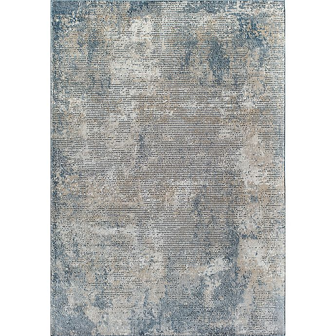Alternate image 1 for Rugs America Milford Hill Castle Area Rug in Stone/Blue