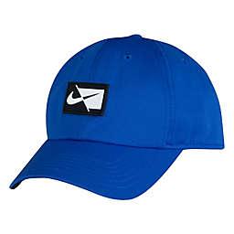 Nike® Dri-FIT® Swoosh Infant Cap in Heather Blue