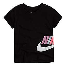 Nike® Futura Core Short Sleeve T-Shirt in Black/Multicolor