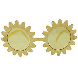 On The Verge Kids Sun-Shaped Sunglasses in Yellow