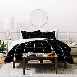 Deny Designs Between Lines 3-Piece Duvet Cover Set