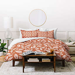 Deny Designs Terra Cotta Blush 2-Piece Twin/Twin XL Duvet Cover Set in Pink