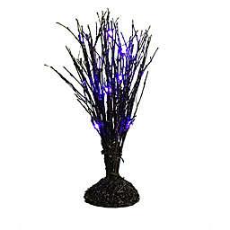 Halloween Branch LED Tabletop Tree in Black/Purple