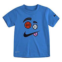 Nike® Elements Sportsball Short Sleeve Shirt in Blue