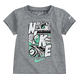 Nike® Comic Panels Short Sleeve Shirt in Heather Grey