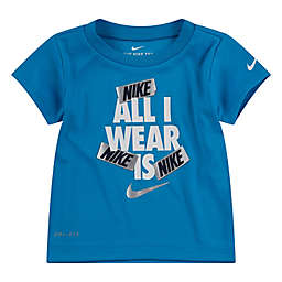 Nike® All I Wear Is Short Sleeve Shirt in Blue