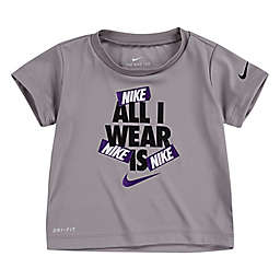 Nike® All I Wear Is Short Sleeve Shirt in Grey