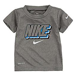 Nike® Block Knockout Short Sleeve Shirt in Heather Grey