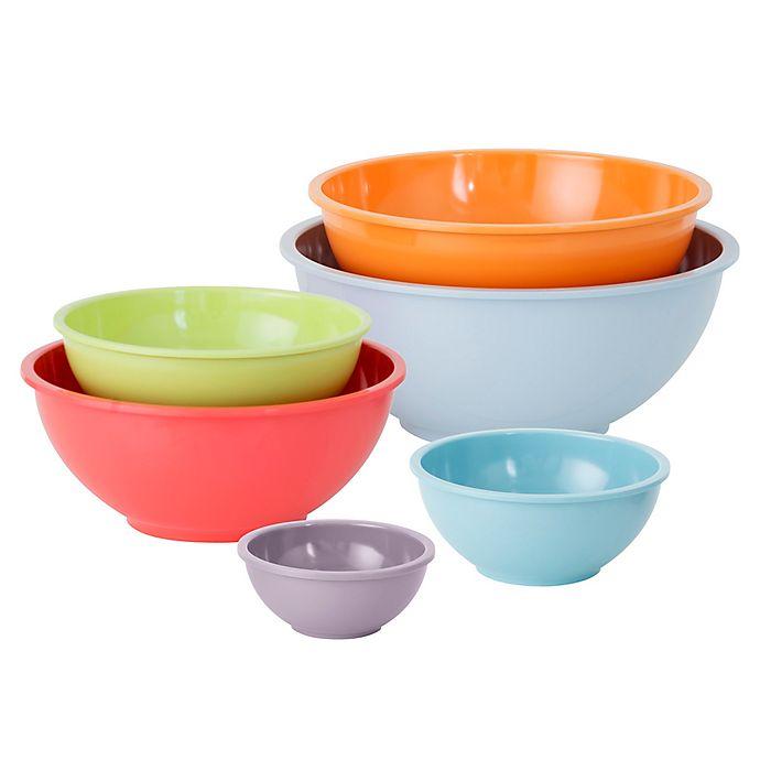 Alternate image 1 for Simply Essential™ 6-Piece Melamine Bowl Set
