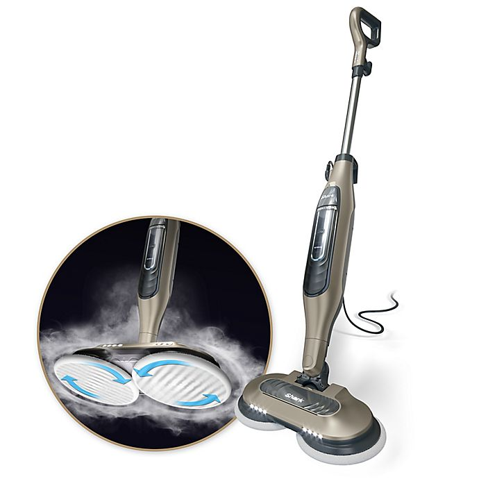 Alternate image 1 for Shark® Steam & Scrub S7001 All-in-one Scrubbing and Sanitizing Hard Floor Steam Mop in Gold/Cashmere