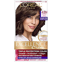 L'Oreal® Paris Excellence® Triple Protection Hair Color in 4.5N Dark Neutral Brown