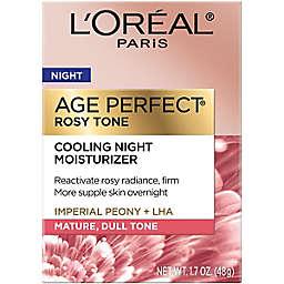 L'Oreal® 1.7 oz. Paris Age Perfect Rosy Tone Cooling Night Moisturizer