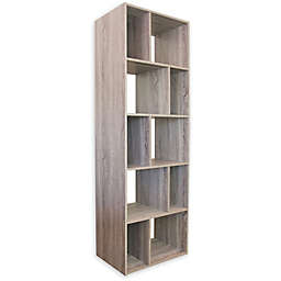Slide Logic Bookcase/TV Stand in Driftwood