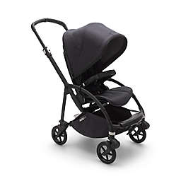 Bugaboo® Bee6 Complete Stroller in Black/Washed Black