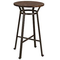 Glitzhome® Rustic Steel Round Pub Table