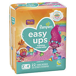 Pampers® Easy Ups™ Size 3-4T 22-Count Jumbo Pack Girl's Training Underwear