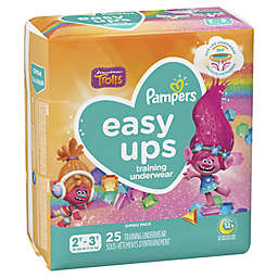 Pampers® Easy Ups™ Size 2-3T 25-Count Jumbo Pack Girl's Training Underwear