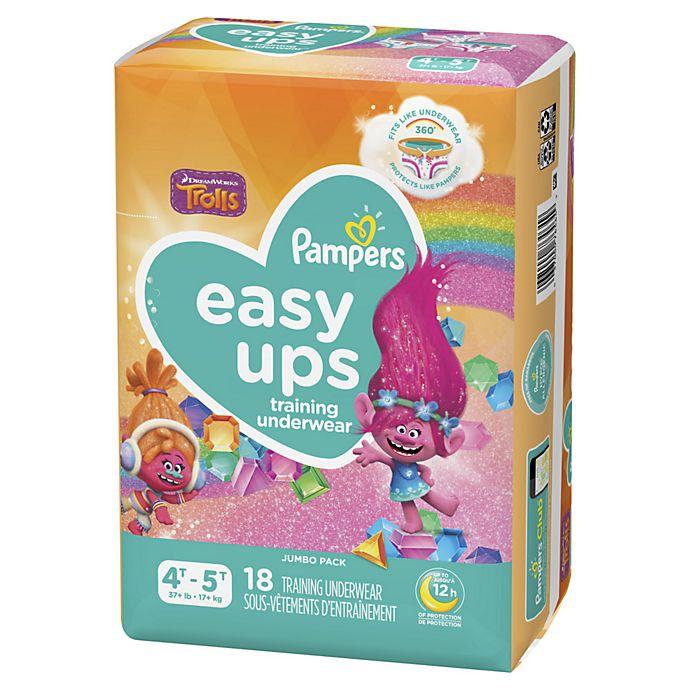 Alternate image 1 for Pampers® Easy Ups Girl's Training Underwear