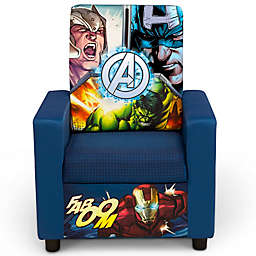 The Avengers Upholstered High Back Chair by Delta Children