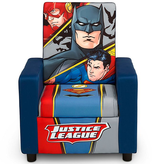 Alternate image 1 for Justic League Upholstered High Back Chair by Delta Children