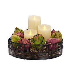 Gourmet Basics by Mikasa® Jaxon Centerpiece Basket in Black