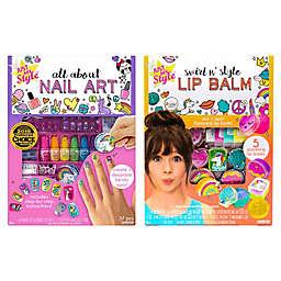 Just My Style Lip Balm/ All About Nail Art 36-Piece Bundle
