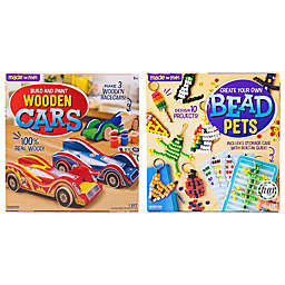 Made By Me® Bead Pets/Wooden Cars Bundle