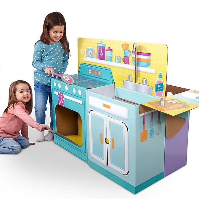 Alternate image 1 for WowWee Pop2Play Kitchen/Nursery Playset