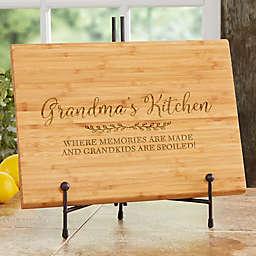 Recipe for a Special Grandma 18-Inch Bamboo Cutting Board