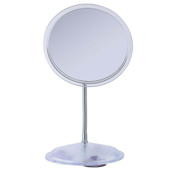 Alternate image 1 for Zadro™ Gooseneck Vanity Mirror in Acrylic/Chrome