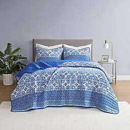 Kelsey 3-Piece Quilt Set in Blue