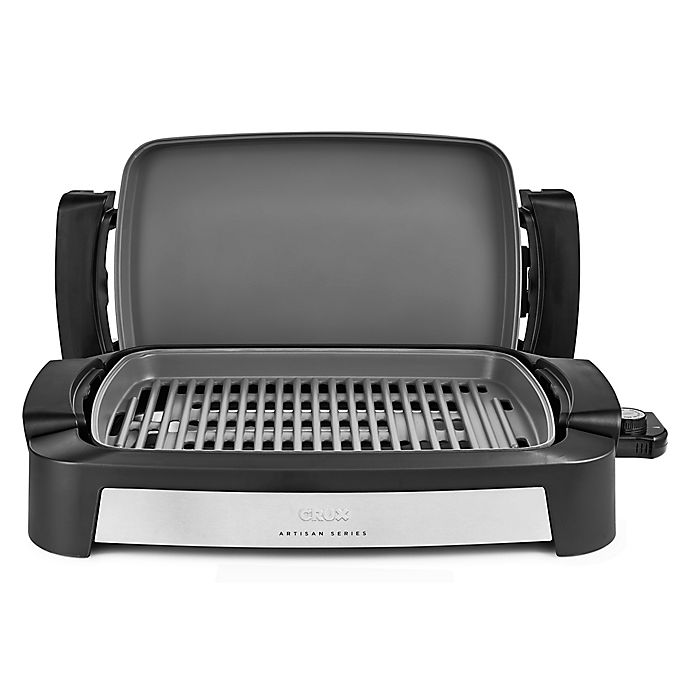 Alternate image 1 for CRUX® Artisan Series Smokeless Grill in Black