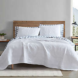 Jasper Trail Solid White King Quilt Set