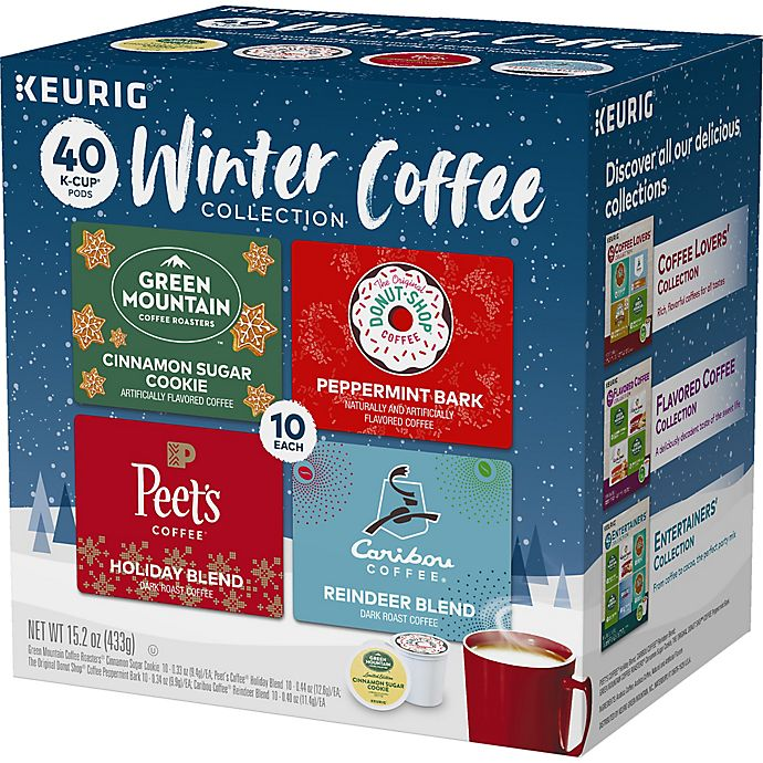 Alternate image 1 for Winter Coffee Variety Pack K-Cup® Pods 40-Count