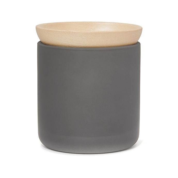 Alternate image 1 for Haven™ Eulo Jar in Grey