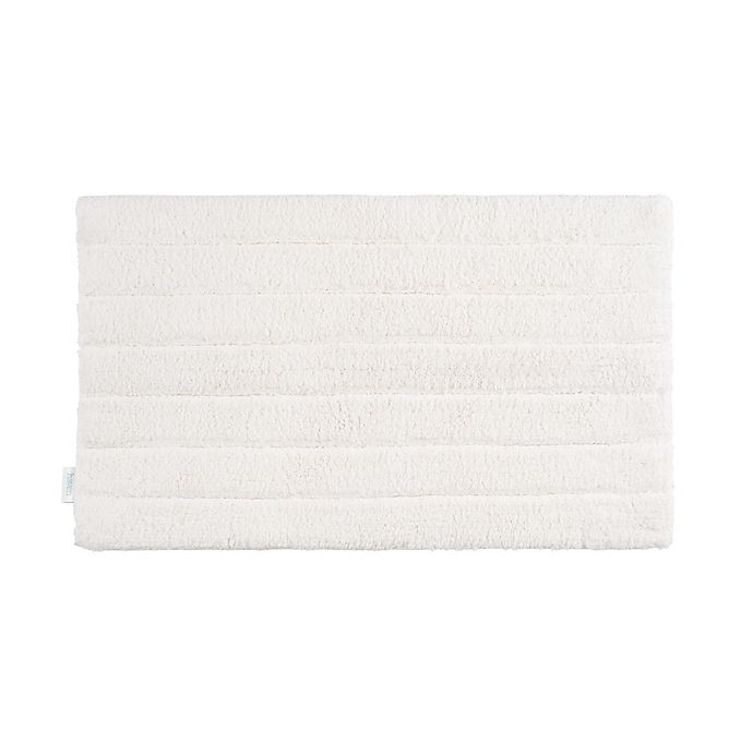 Alternate image 1 for Haven™ Organic Cotton Tufted Stripe Bath Rug Collection