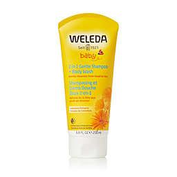Weleda Baby 6.8 fl. oz. 2-in-1 Gentle Shampoo & Body Wash with Calendula