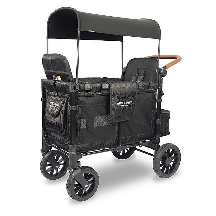 Alternate image 1 for WonderFold Wagon Premium Double Stroller Wagon