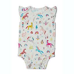 Loulou Lollipop Size 6-12M Bodysuit in Unicorn Dream