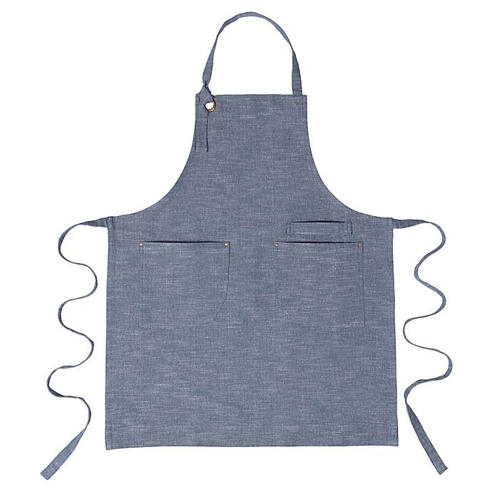 Alternate image 1 for Our Table™ Select Chambray Apron