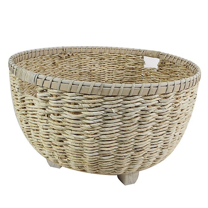 Alternate image 1 for Bee & Willow™ 11-Inch Handled Storage Basket in Natural