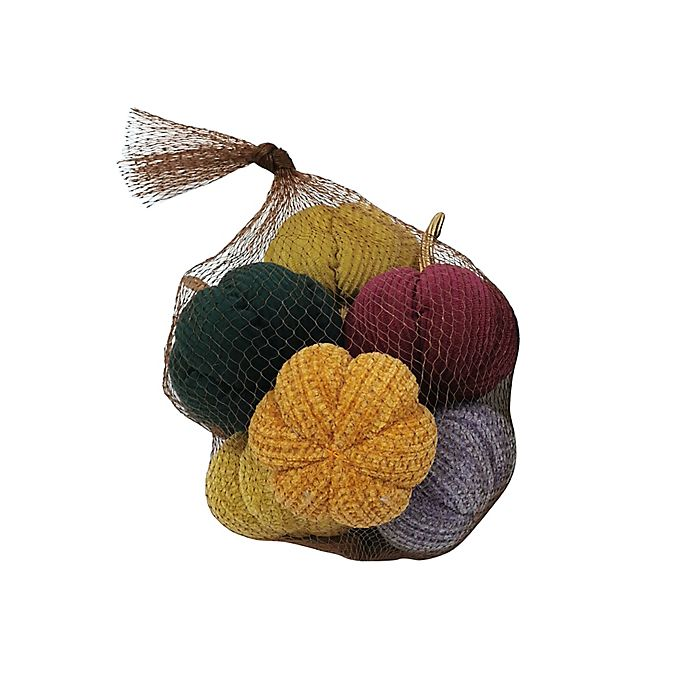 Alternate image 1 for Bee & Willow™ Bagged Stuffed Pumpkins (Set of 8)