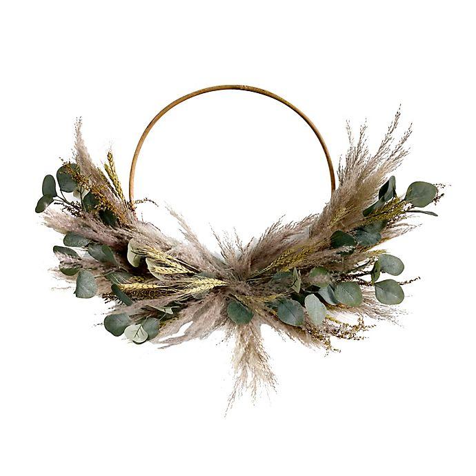 Alternate image 1 for Bee & Willow™ 24-Inch Eucalyptus Hoop Wreath